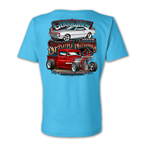 2018 spring nationals scottsdale women's v-neck T-shirt - front
