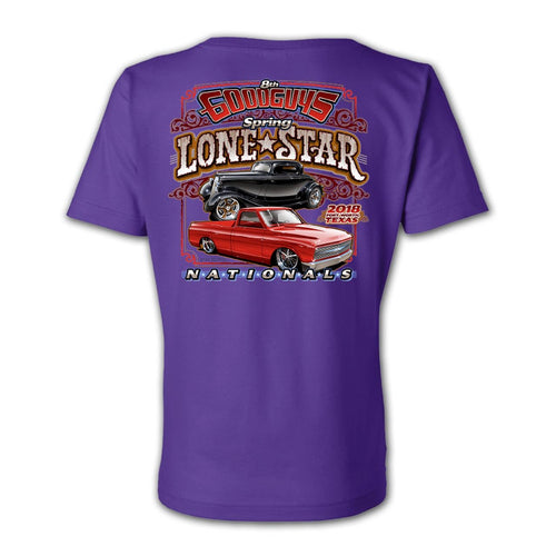 2018 spring lone star nationals fort worth women's T-shirt - front