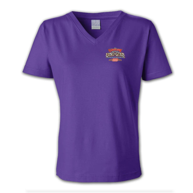 2018 spring lone star nationals fort worth women's T-shirt - back