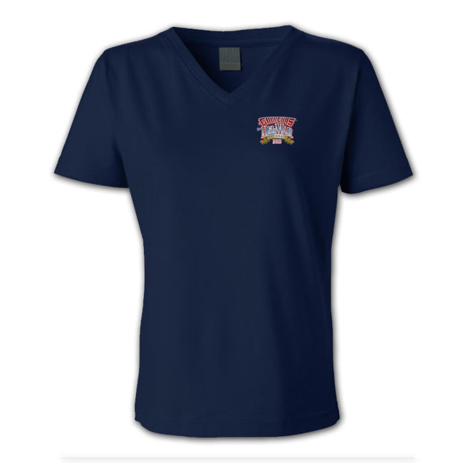 2018 del mar nationals women's T-shirt - back