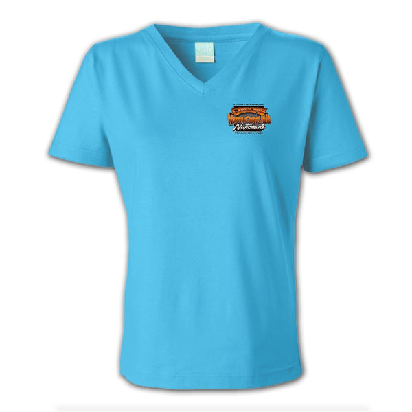 2018 north carolina nationals raleigh women's T-shirt - back