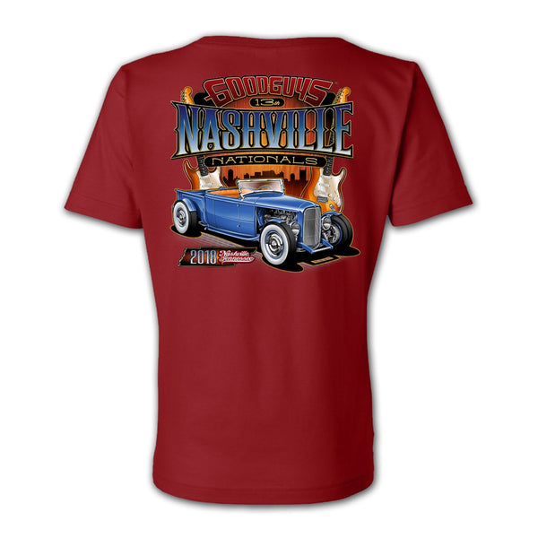 2018 nashville nationals women's T-shirt - front
