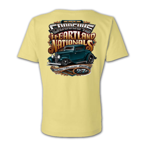 2018 heartland nationals des moines women's T-shirt - front