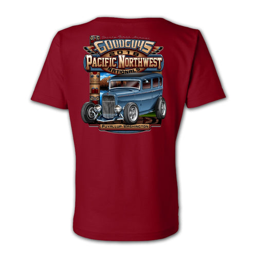 2018 pacific northwest nationals puyallup women's T-shirt - front