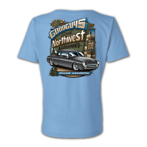 2018 great northwest nationals spokane women's T-shirt - front