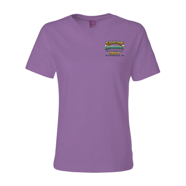 goodguys fall 2018 southwest nationals scottsdale women's t-shirt - back