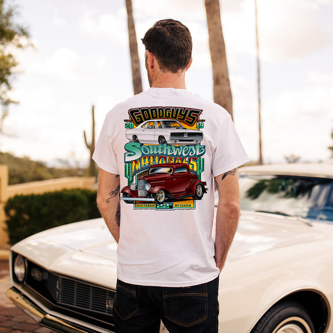 2019 Fall Southwest Nationals White Event Exclusive T-Shirt