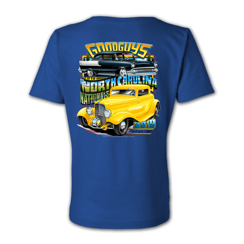 2019 NORTH CAROLINA NATIONALS LADIES EVENT EXCLUSIVE T-SHIRT-Event Exclusives-Shop Goodguys
