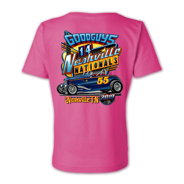 2019 NASHVILLE LADIES EVENT EXCLUSIVE T-SHIRT-Event Exclusives-Shop Goodguys
