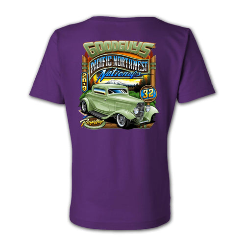 2019 Pacific Northwest Nationals Ladies Event Exclusive T-Shirt