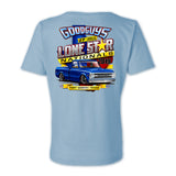 Goodguys 2019 Fall Lone Star Nationals Light Blue Event Exclusive T-shirt - Back
