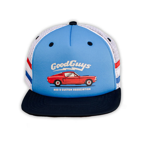 C STRIPE SNAPBACK HAT-Youth Hats-Shop Goodguys