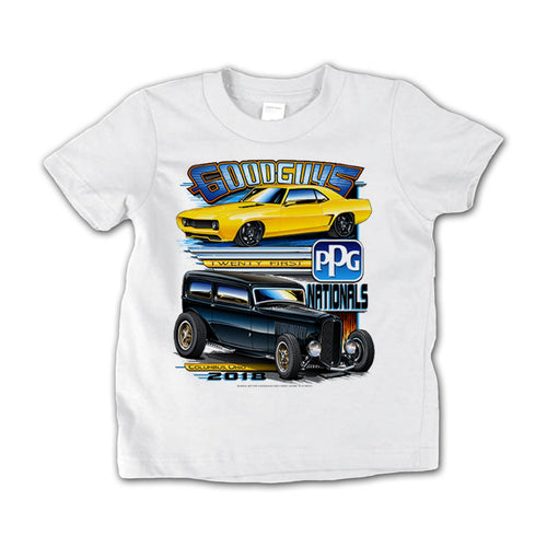 21st PPG Nationals White Event Exclusive T-Shirt Goodguys