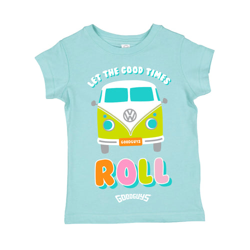 LET THE GOOD TIMES ROLL TODDLER T-SHIRT