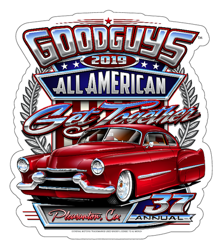 2019 North Carolina Nationals Sticker