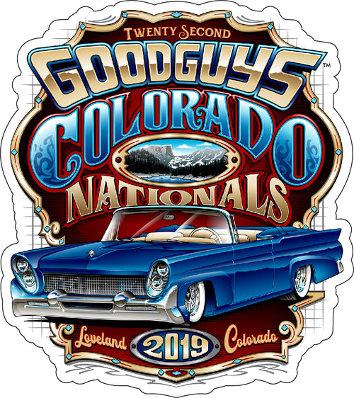 Goodguys 2019 Colorado Nationals Sticker