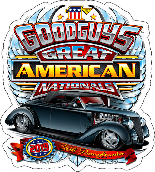 2019 Great American Nationals Sticker