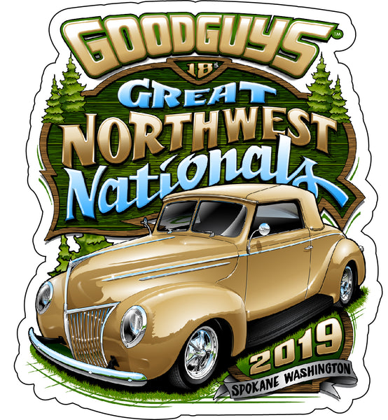 Goodguys 2019 Great Northwest Nationals Sticker