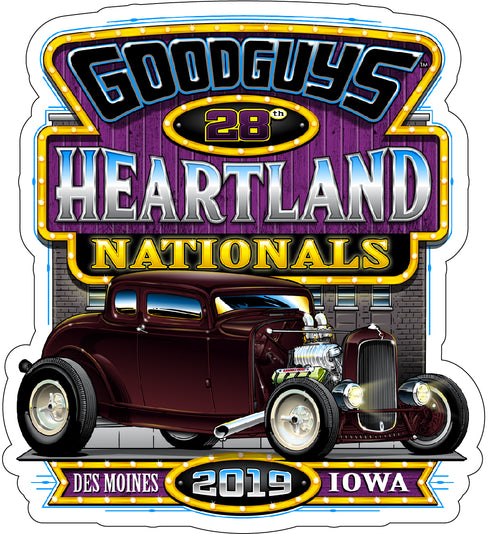 2019 Heartland Nationals Sticker
