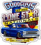 Goodguys 2019 Fall Lone Star Nationals Event Exclusive Sticker