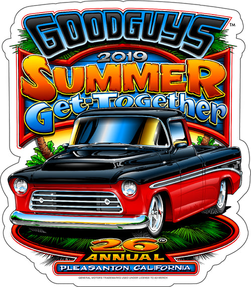 2019 Goodguys Summer Get-Together Sticker