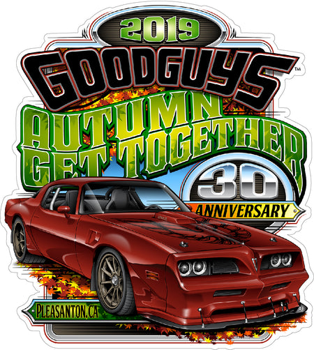 Goodguys Trailer Decal
