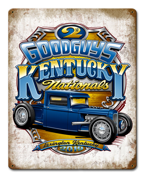 Goodguys 2019 Kentucky Nationals Event Exclusive Tin Sign