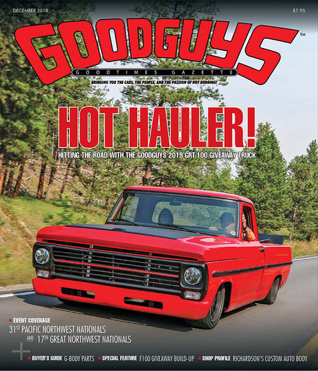 JANUARY 2019 GOODGUYS GOODTIMES GAZETTE