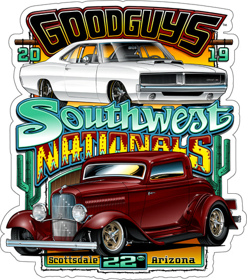 2019 Fall Southwest Nationals Sticker