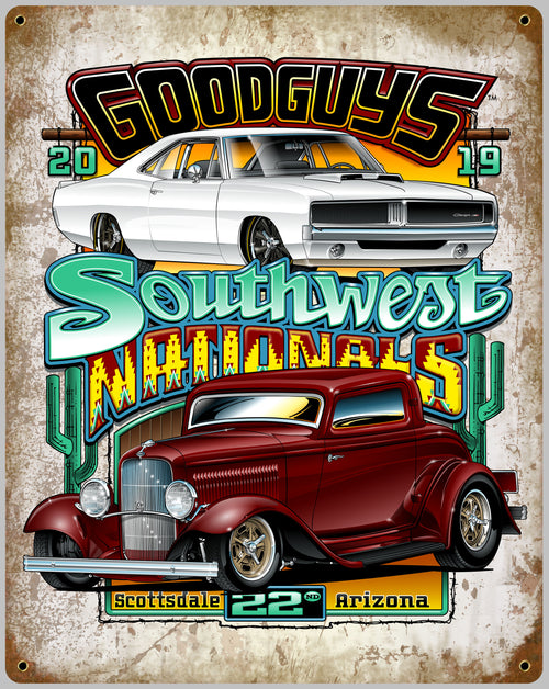 2019 Fall Southwest Nationals Tin Wall Art