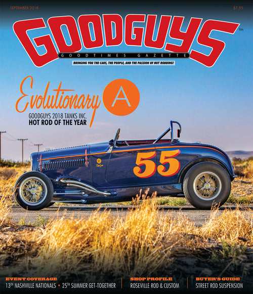 2018 september Goodguys goodtimes gazette - front