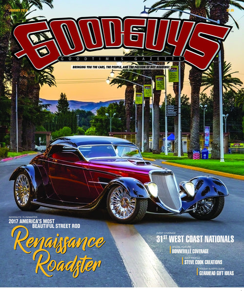 2018 january Goodguys goodtimes gazette - front