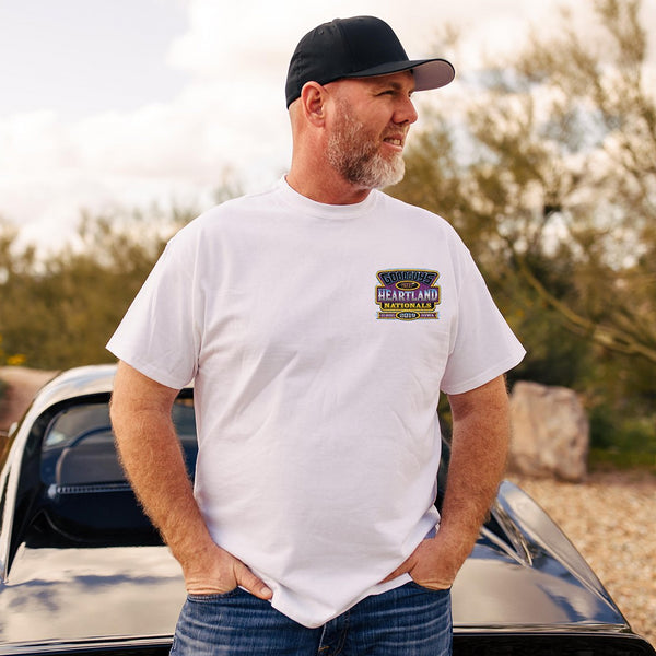 2019 Heartland Nationals White Event Exclusive T-Shirt