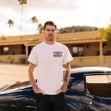 Goodguys mens 2019 spring lone star fort worth white event exclusive t-shirt front - lifestyle