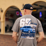 Goodguys Mens Camaro Gray Tee - Back - Lifestyle