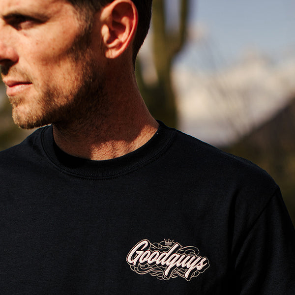 Goodguys Mens Lights Out Black - Back - Lifestyle