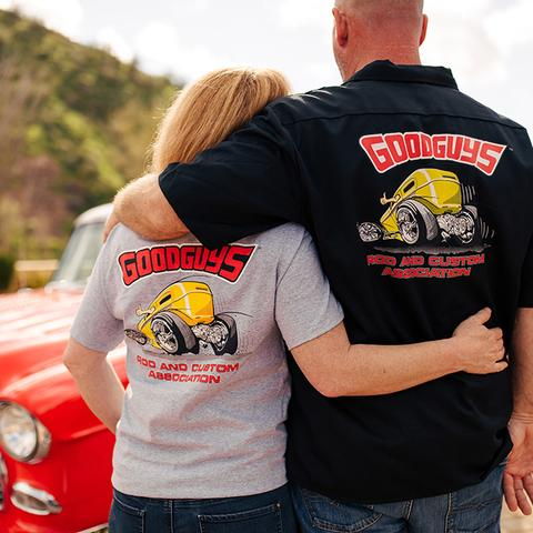 Goodguys Mens Pocket Thumbs Up Tee - Back - Lifestyle