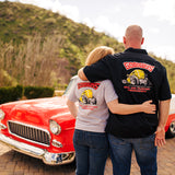Goodguys mens thumbs up garage shirt back - lifestyle