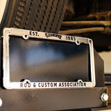 LICENSE PLATE FRAME-Novelties-Shop Goodguys