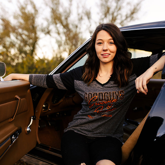 Groovin' And Cruisin' Raglan Shirt