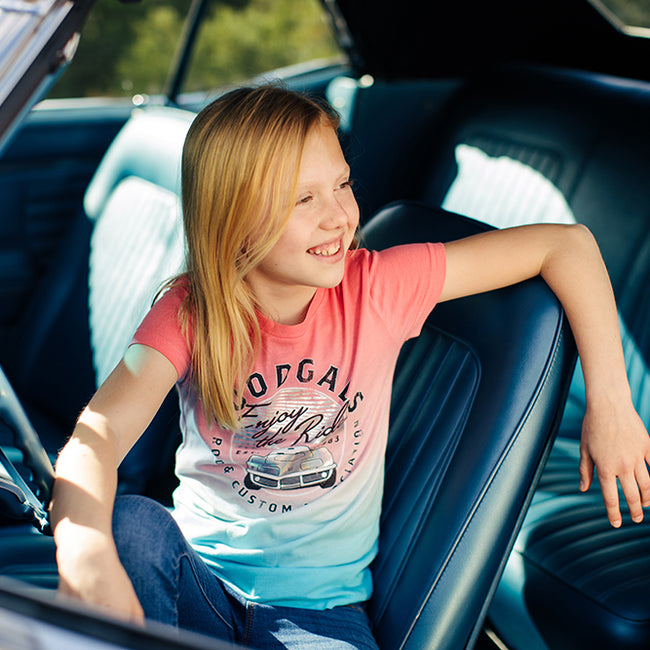 ENJOY THE RIDE T-SHIRT-Youth Tees-Shop Goodguys