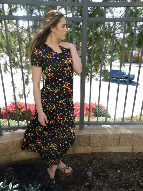 1960's Vintage Christie Lou Maxie Dress
