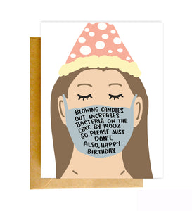Covid-19 Birthday Card
