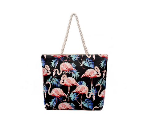 Flamingo Canvas Tasche