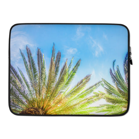 Notebook Tasche - Palmtrees