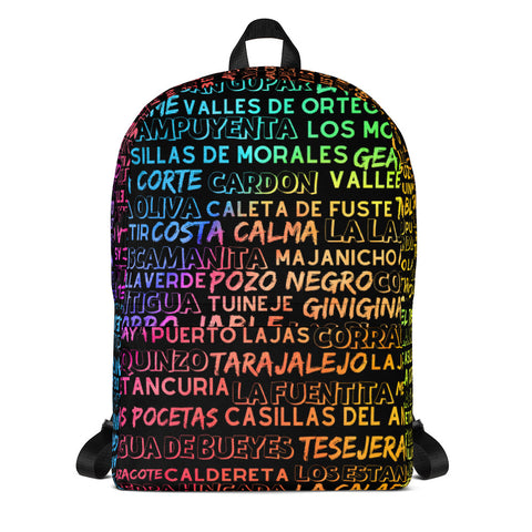 FuerteZone Rucksack - Colorful Cities