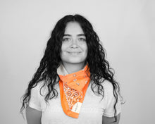 Load image into Gallery viewer, MASKDANNA VINTAGE BANDANNA (ORANGES)