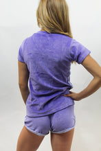 Load image into Gallery viewer, WOMENS RIALTO SHORTS VELOUR LAVENDER