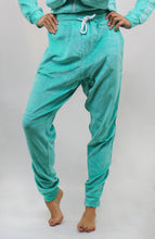 Load image into Gallery viewer, WOMENS ELECTRIC PANTS VELOUR JADE