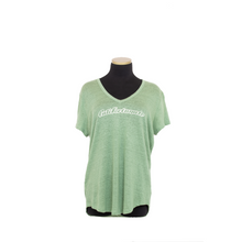 Load image into Gallery viewer, LINNIE V NECK EMERALD